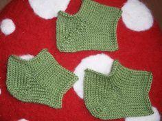 Sockprojektet: Sticka olika hälar