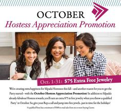 Host a party and reap even more benefits this month!