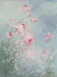 Rhapsody 18 x 24 - Debi Coules Romantic Art