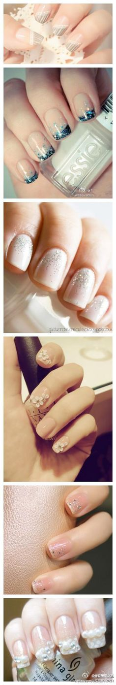 soft pretty nails