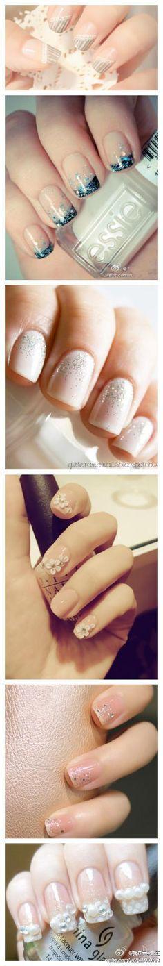 soft pretty nails
