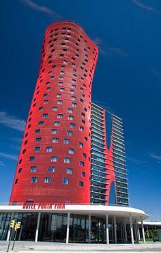 Hotel Porta - Fira L' Hospitalet de Llobregat, Spain Architects: Toyo Ito & Associates, Architects; b720 Fermín Vázquez Arquitectos