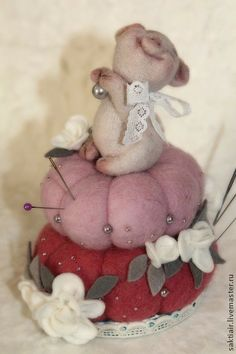 Toy animals, handmade.  Fair Masters - handmade beads.  Handmade.