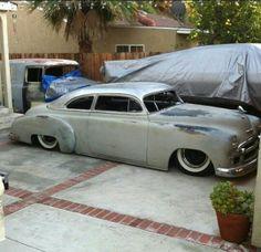 A Chevy dream backyard