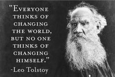 """3rdeyeMagick on Instagram: """"Beware of he who has a solution for everything outside of himself. ⠀ ⠀ Ultimately one realizes that all the economic plans, political…"""" Tolstoy Quotes, Leo Tolstoy, Wisdom Quotes, Quotes To Live By, Life Quotes, Change The World Quotes, Work Quotes, Positive Quotes, Motivational Quotes"""