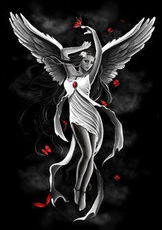 Sky Angel - design for Spiral direct by Anna-Marine.deviantart.com on @deviantART