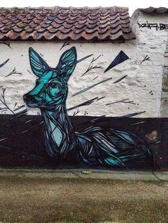 Street Art animalier signées Dzia