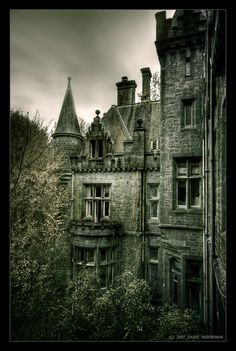 Abandoned, Castle Miranda, Belgium.  Looks big enough to move into and never be found out :)