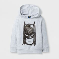 Sweatshirts Batman Light Gray Heather 2T, Boy's