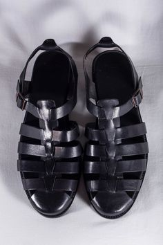 Leather Sandals (Zara Spring/Summer 2014)