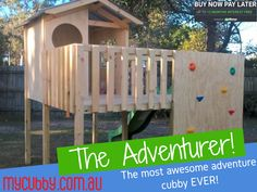 The best cubby for adventurous kids! Delivering Australia wide.