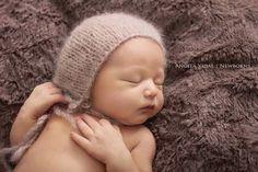 More colors. Newborn Mohair bonnet-Baby knit mohair bonnet-can match with my mohair wraps
