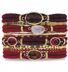 Hipanema Femme Garnet Bracelet