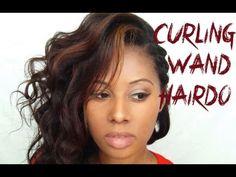 Curling Wand Hairstyle Babilon Kay