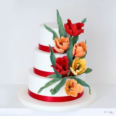 #tortebellissime #cakedesigne #tortetulipani
