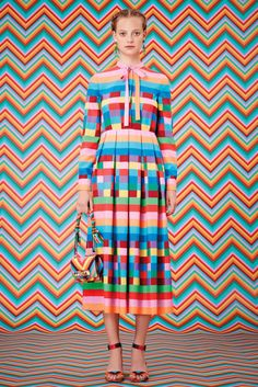 Valentino Resort 2015: Kaleidoscope of color, inspiration for Etsy #CraftParty 2015, via We Are Scout.