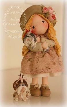 Dolci Bambole-Porcellana fredda- Polymer clay-Porcelana fria