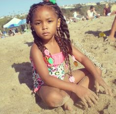 She is sooo pretty. Her parents are gonna have to beat the boys away one day.