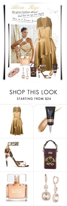 """""""Alicia Keys"""" by conch-lady ❤ liked on Polyvore featuring Givenchy and Becca Cosmetics"""