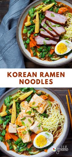 Gobble | Korean Ramen Noodles | Dinner in 15 Minutes | Dinner For Two | Quick and Easy Recipes | New Recipes To Try | Cook At Home | Food Delivery Services | Healthy Meals Made With Fresh Ingredients | What To Have For Dinner | Dinner Recipes And Ideas | Easy Dinner Recipes | Gourmet Meals | $50 OFF