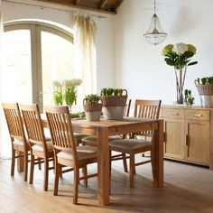 Hannover dining table from Barker and Stonehouse
