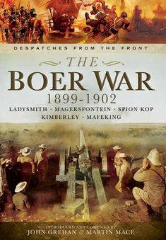 """""""This work for scholars and history buffs gathers primary sources to tell the story of the sieges of the towns of Ladysmith, Magersfontein, Spion Kop, Kimberley, and Mafeking during the Boer War that began in late 1899 (also known as the Second Boer War or the Great Boer War). The book presents daily despatches (dispatches) written by commanders of the British Army, describing tactics, campaigns, and command issues on a day to-day basis."""" - ProtoView, 2016"""