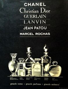 AMAZING PERFUME ADS FROM THE PAST:    JE REVIENS by WORTH (~1953)    This powdery classic from 1932 was created by perfumer Maurice Blanchet. Description from pinterest.com. I searched for this on bing.com/images