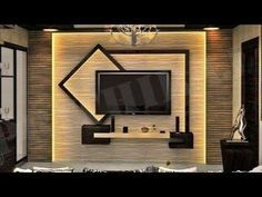 This article is about TV wall units in your bedroom or living room.Recently, we had an article about TV wall units and you were very interested about. Modern Tv Unit Designs, Living Room Tv Unit Designs, Modern Tv Wall Units, Tv Unit Decor, Tv Wall Decor, Lcd Wall Design, Tv Cabinet Wall Design, Tv Wanddekor, Modern Tv Cabinet