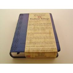 Turkish Full Life Study Bible / Yeni Yasam Aciklamali Kutsal Kitap / PU Delux Cover/ Silver Edges /  Concordance, Huge amount of Notes  $139.99