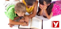 Kids reading a book stock image. Image of brunette, adorable - 3721171 Saga, Children Images, Kids Reading, The Washington Post, Stock Foto, Parenting Hacks, Books To Read, Kindergarten, Therapy