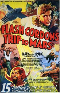 MI ENCICLOPEDIA DE CINE: 1936 - Flash Gordon Carteles y Lobby Card
