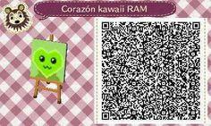 Este es un QR Code para Animal Crossing, creado por mí; como podéis observar, es un corazón kawaii, con un color verde lima. [11-18]  Lo podéis encontrar en mi canal de YouTube: https://www.youtube.com/channel/UCh6uwa2CjSgR4WQ-ghRQY6Q (Roxy).  ¡Espero qué os guste! ;)