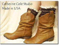 The  Miss Tori  cowboy boot lace chocolate by CatherineColeStudio, $16.75