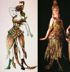 "Phantom of the Opera, the ""Goldfish"" Masquerade costume, (Maria Bjornson)"