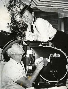 Buster Keaton and Donald O'Connor. This is too cute, the expressions between the two actors.