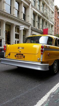Checker yellow cab
