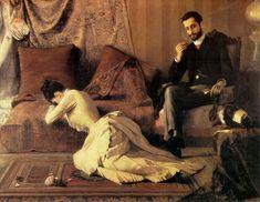 Belmiro de Almeida, Arrufos, (1887)