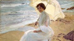 Modern impressionist painting Clotilde at the beach Joaquin Sorolla y Bastida art for sale Handmade High quality Spanish Painters, Art Painting, Google Art Project, Spanish Artists, Painting, Oil Painting, Art, Beach Art, Beach Landscape Art