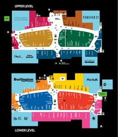 56a5aed578 Mall Map For The Mills at Jersey Gardens