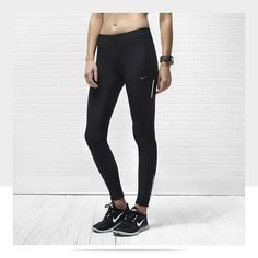 Running Tights | Nike. Apparently, at the local Nike factory store, they are only in stock in the winter. To bother looking for these in warm weather is pointless. So ladies, if you need to train up for a bikini bottom, get your tights now.