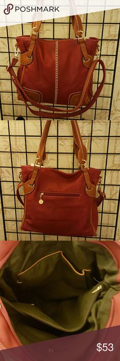 "Fashion Shoulder bag Faux leather. Brand New. 18"" * 5"" * 15"" Bags Shoulder Bags"