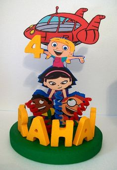 Hey, I found this really awesome Etsy listing at https://www.etsy.com/listing/180867515/little-einsteins-3d-custom-personalized