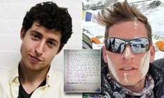 'If you don't return we'll know that you've already lived the equivalent of at least 100 lives': The heartbreaking letter from a friend Google engineer was carrying to read at Everest summit before avalanche killed him