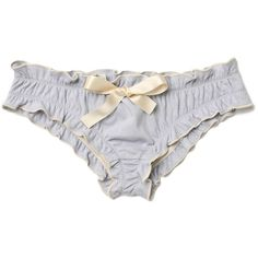 Ruffle Racer Bralette ($44) ❤ liked on Polyvore featuring intimates, panties, lingerie, underwear, frilly panty, frilly panties, ruffle panties, underwear lingerie and ruffle lingerie