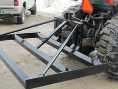 The Land Leveler is a versatile tractor attachment for lawn leveling, spreading of gravel, sand or dirt and sifting and sorting debris from soil. Use for grading and leveling in both forward and...