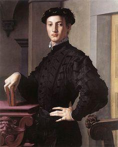 Unknown Man by Agnolo Bronzino, c.1540. (Metropolitan Museum of Art, New York)
