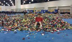 LEGO KidsFest - brick pile