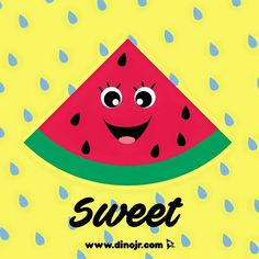 You're one in a melon! Happy National Watermelon Day!!  #dinojrstudios #watermelonday #watermelon #holidays #youtubekids