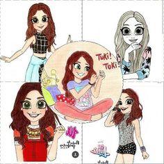 Mis 5 dibujos favoritos de @nadadeperfectas !
