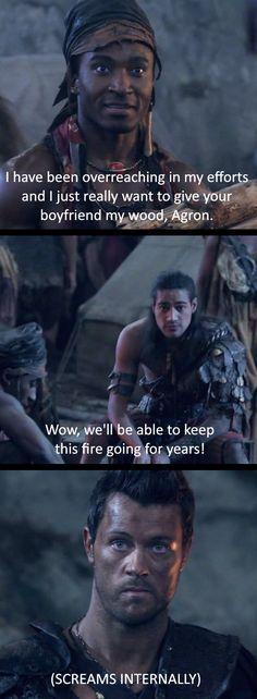Nagron Agron Nasir Castus Spartacus Actor Pana Hema Taylor Fangirl